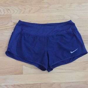 Nike Dri-Fit Crew Shorts Navy Size Medium